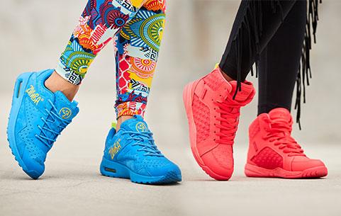 Sapatos de dança dança dança e tênis femininos Sapatos Zumba Zumba Fitness 544655